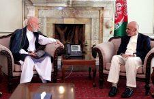 غنی کرزی 226x145 - دخول الرئيس السابق الأفغاني القصر الرئاسي