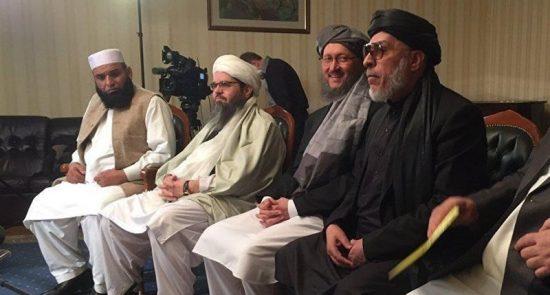 550x295 - إنتهاء المفاوضات بين أمريكا وممثلي طالبان