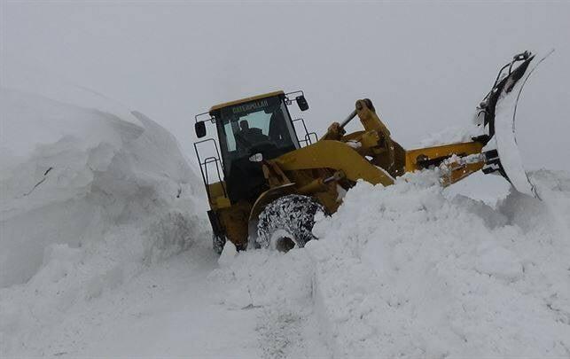 برف در ترکیه3 1 - تساقط لثلوج غير المسبوقة في تركيا