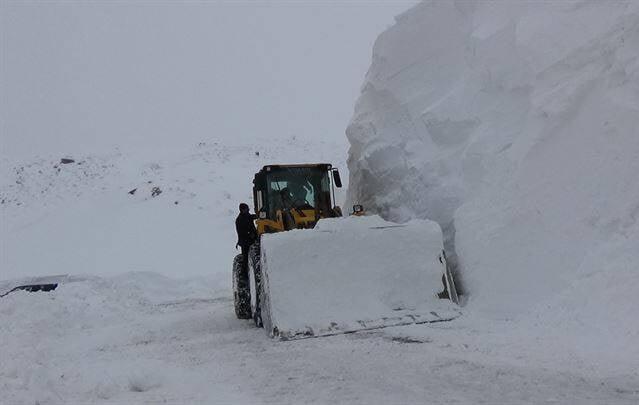 برف در ترکیه5 - تساقط لثلوج غير المسبوقة في تركيا
