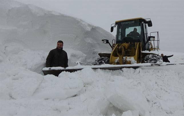 برف در ترکیه6 - تساقط لثلوج غير المسبوقة في تركيا
