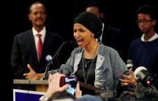 إلهان عمر 226x145 - مجلس النواب يدين عنصرية ترامب ضد إلهان عمر وزميلاتها