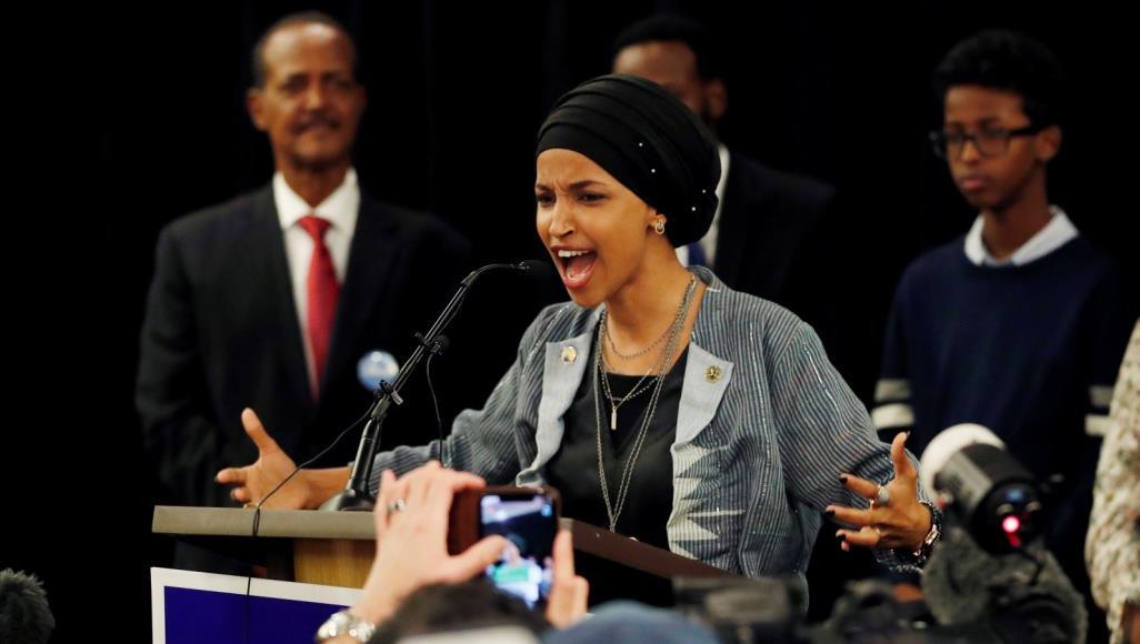 إلهان عمر - مجلس النواب يدين عنصرية ترامب ضد إلهان عمر وزميلاتها