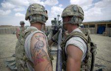 امریکا عسکر 226x145 - معلومات عن قتل جندي أمريكي في شمال أفغانستان