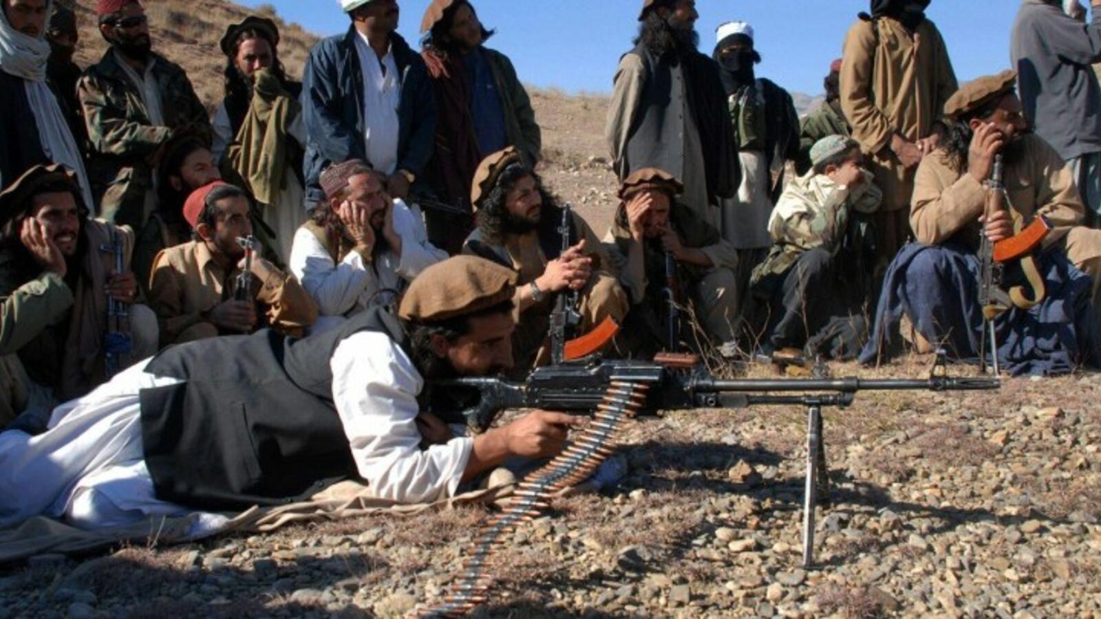 طالبان - مقتل 27 مسلحا تابعا لحركة طالبان إثر الغارة الجوية الأمريكية