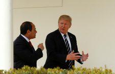 ترامب السيسي 226x145 - هل يدعم ترامب السيسي بعد مظاهرات شعبية في مصر