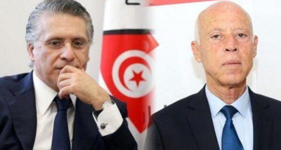 المرشحين التونسيين 550x295 - الانتخابات التونسية: الناخبون يدلون بأصواتهم في جولة الإعادة الحاسمة في الانتخابات الرئاسية