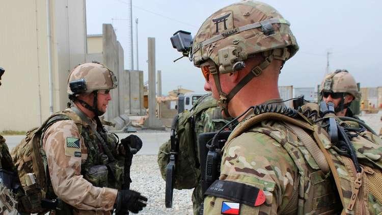 التشيك - إنسحاب التشيك من دعم إحدى القواعد الأمريكية في أفغانستان