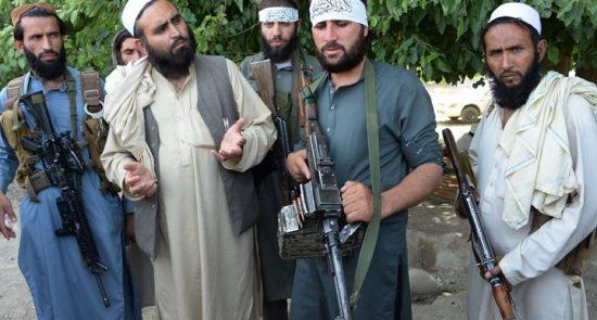 550x295 - مقتل 9 من القوات الحكومية بهجوم لطالبان شمال البلاد
