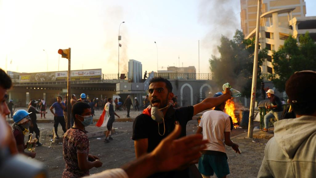 580 11 - سقوط الضحايا وإستمرار المظاهرات في العراق..بيان الحكومة العراقية