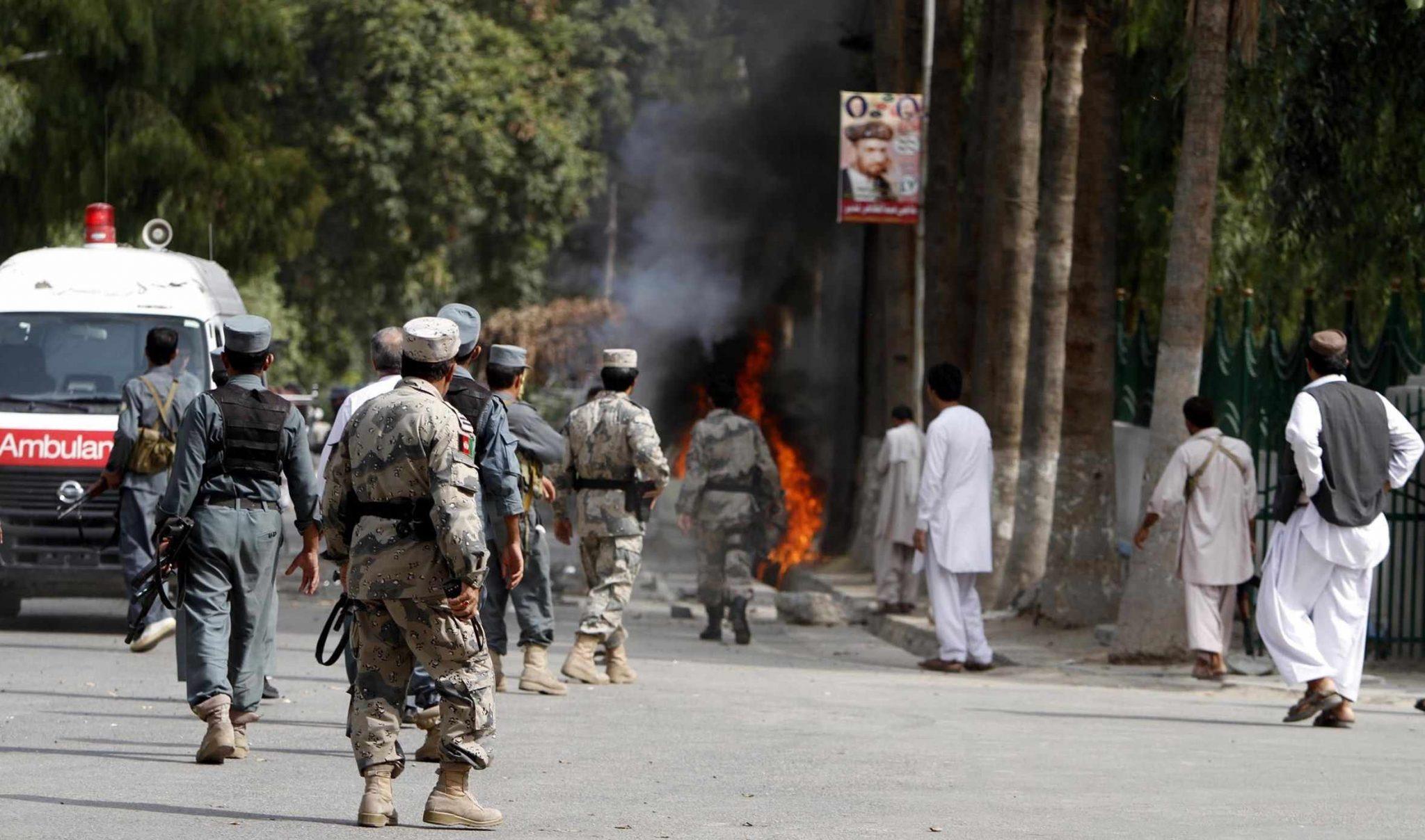 scaled - مقتل عدد من عناصر حركة طالبان في أفغانستان