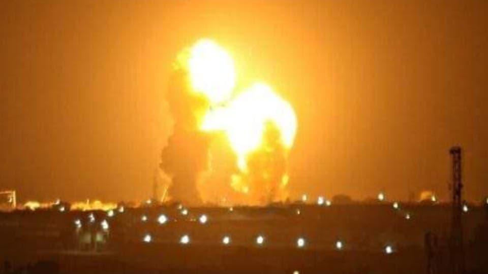 انفجارات في قاعدة عين الأسد في الأنبار - الهجوم الصاروخي الإيراني على القا عدتين العسكريتين في العراق