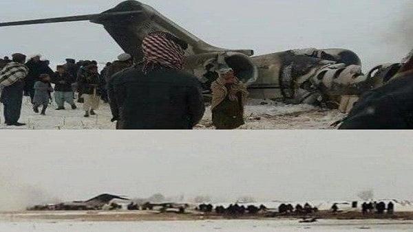 288 - طالبان: إسقاط طائرة تحمل جنودا أمريكيين في غزني وسط أفغانستان