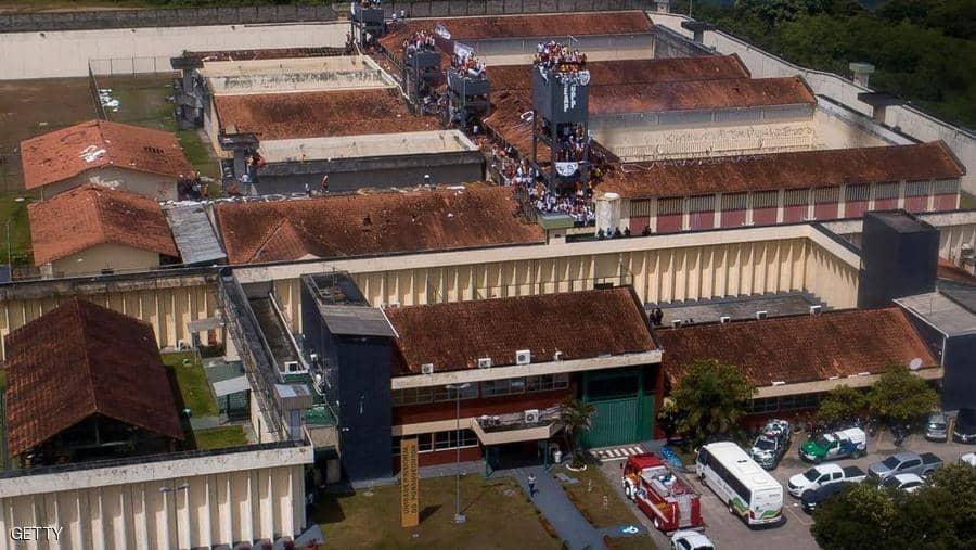 1 1341366 - محاولة جريئة للهروب من سجن برازيلي