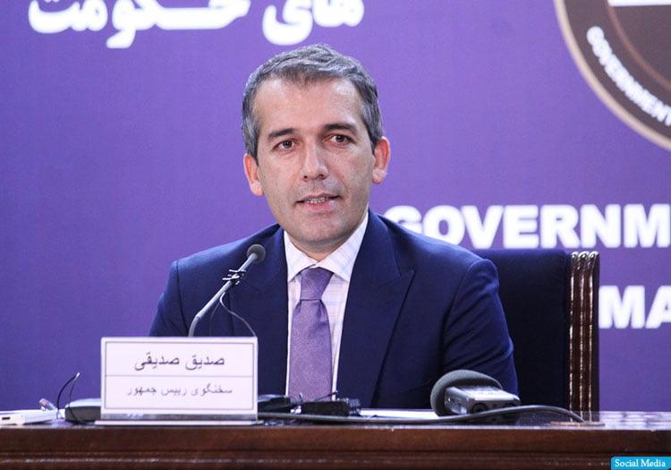 Sediqi - الحكومة تدعو طالبان لوقف إطلاق النار