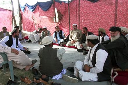 khost protest - Khost Residents Embark On Sit-In As Momentum Gathers