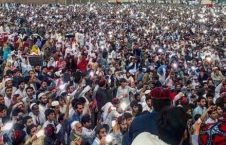 pashtuns protest pakistan 226x145 - Pashtuns Rally In Peshawar To 'End Enforced Disappearances'