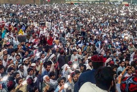 pashtuns protest pakistan - Pashtuns Rally In Peshawar To 'End Enforced Disappearances'