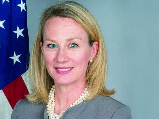 alice wells 1509169272 892 640x480 - US commends PM Imran's statement on Pak-Afghan border peace: Alice Wells