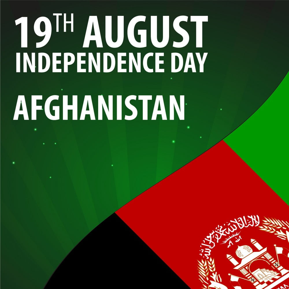 independence day of afghanistan flag of vector 18957919 1 - Afghanistan's Independence Day is marked amid security crisis