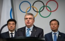 IOC president denounces attack on wrestling centre