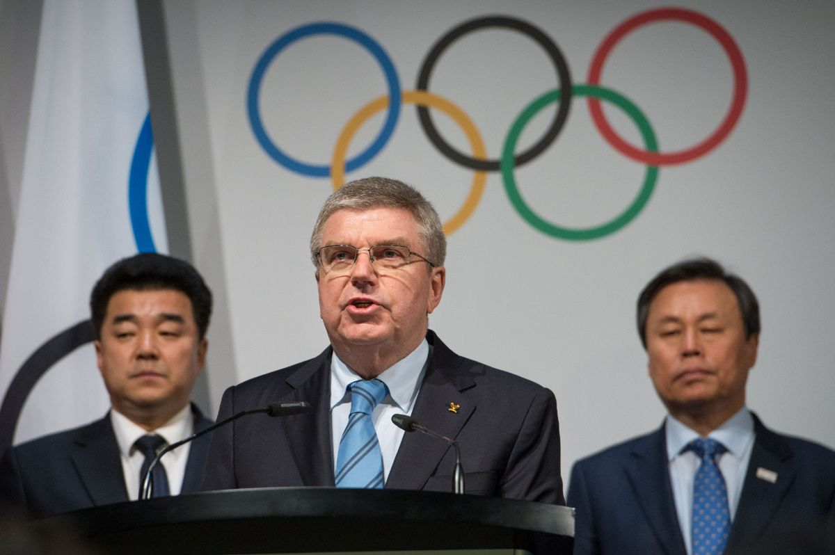 thomas bach ioc - IOC president denounces attack on wrestling centre
