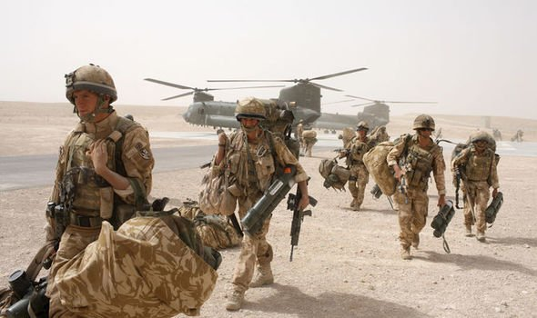 1046957 1 - British Forces deployed in Afghanistan to beat ISIS