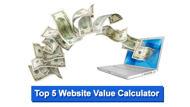 Website Value Calculator