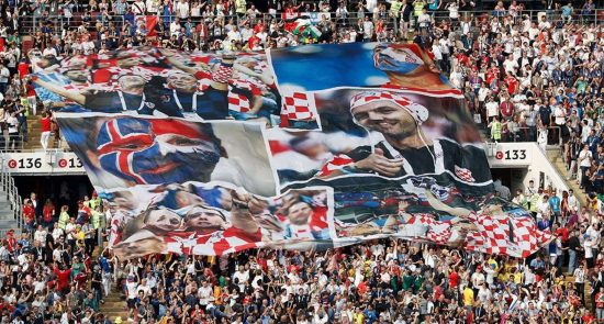 World Cup Russia Supporters 550x295 - 5,000 Football World Cup Fans Overstayed in Russia, the Gov. Ordered to Deport them