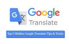 Top 5 Hidden Google Translate Tips & Tricks