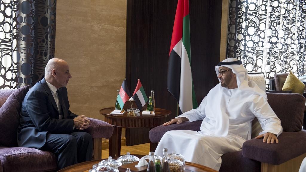 jpeg - President Ghani Visited Abu Dhabi Crown Prince