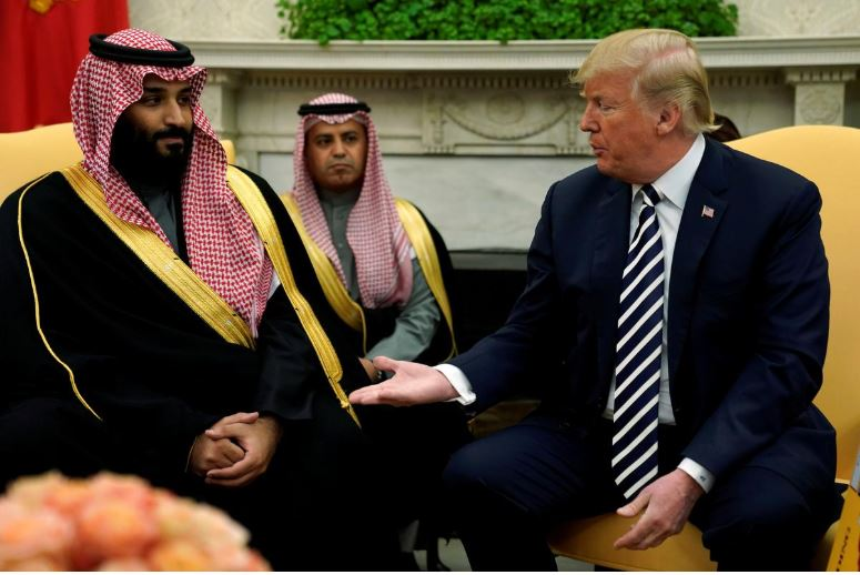 Capture 1 - Trump Discussed Iran, Human Rights with Saudi Crown Prince