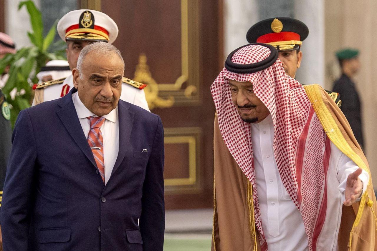 S1 CI678 saudir M 20190418130851 - Iraqi Premier's Visit to Saudi Arabia Reflects Deeper Ties to Kingdom