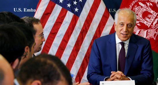 int l afghanistan ceasefire push in focus in us taliban talks 1545135640568 550x295 - Foreign Forces Withdrawal, the Next Peace Talks Focus