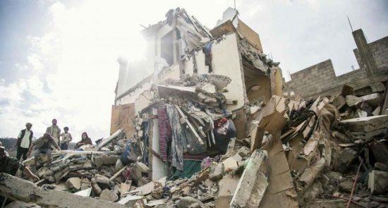 201808mena yemen photo 01 550x295 - HRW: France Should Stop Fueling Saudi War Crimes in Yemen