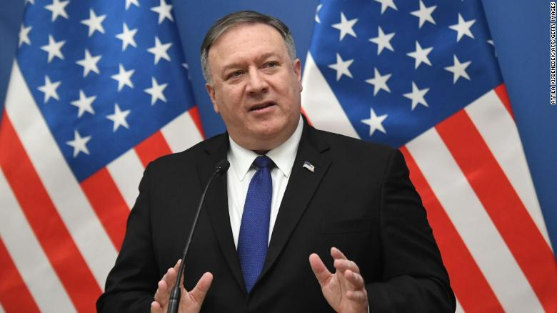190211213327 pompeo 0211 exlarge 169 - US Adds Saudi Arabia and Cuba to Worst Human Traffickers List