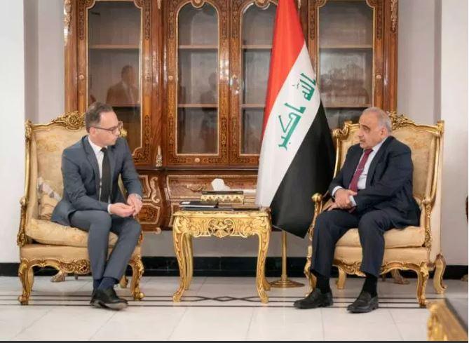 89 1 - German FM Arrives in Iraq, Seeks to Address Regional Tensions
