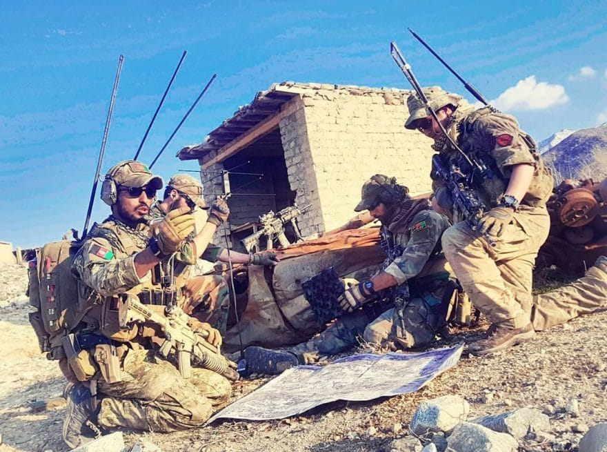Special Forces 22 June 2019 880x655 - Afghan Special Forces Kill 14 Taliban Militants in Ghazni Province
