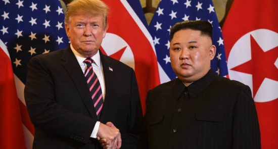 newsletter trumpkim 022719getty 550x295 - Kim Received a Letter from Trump with  'Excellent Content'