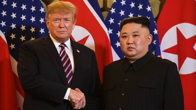 newsletter trumpkim 022719getty - Kim Received a Letter from Trump with  'Excellent Content'