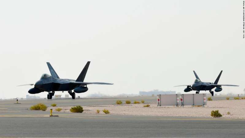 AADAXaI - US Deployed F-22 Fighters to Qatar Amid Tensions with Iran