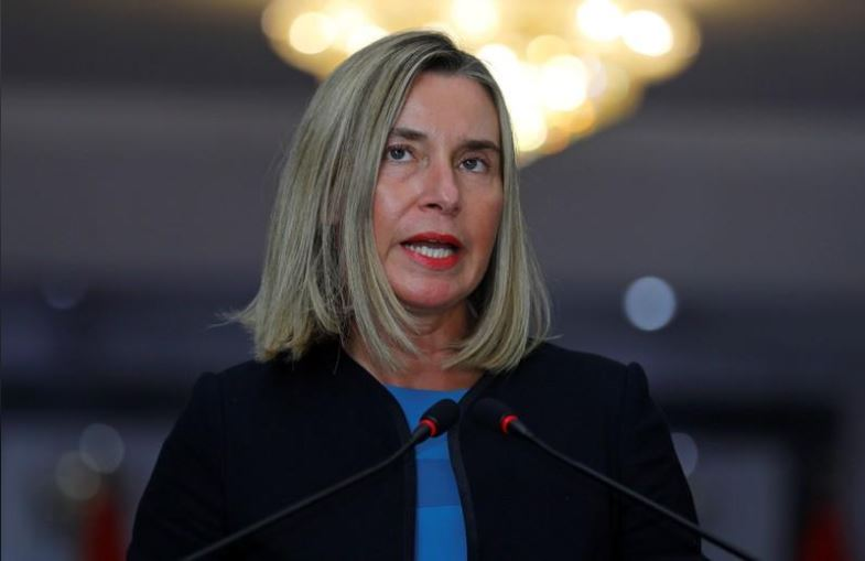 Capture 2 - EU's Mogherini Cautions Against 'Dangerous Adventures' in the Middle East