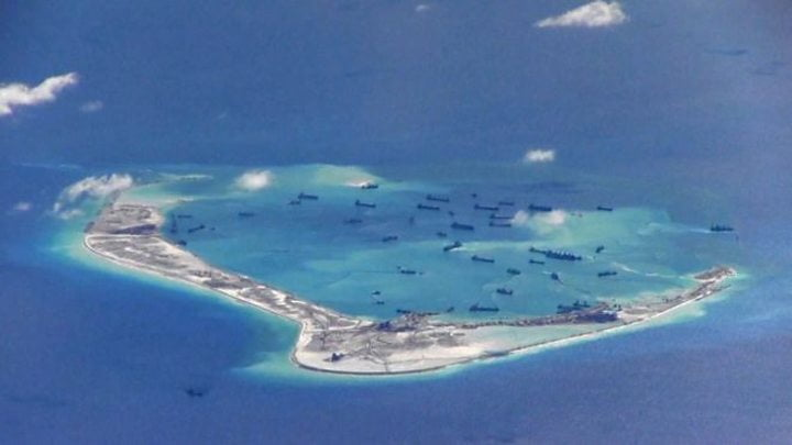 p06lrpcw - US Concerned Over China's 'Interference' in South China Sea