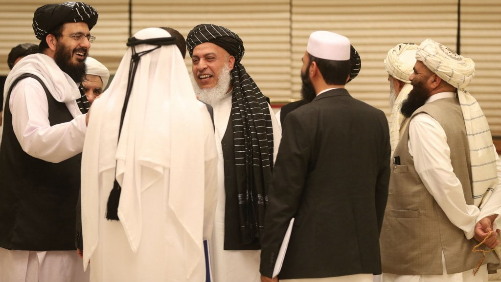 talib qatar m - Taliban, Afghan Delegates Agreed on Road Map to Reduce Violence