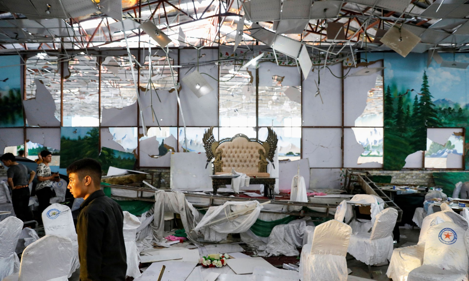 3500 1 - Deadly Blast in Wedding in Kabul, 63 People Dead