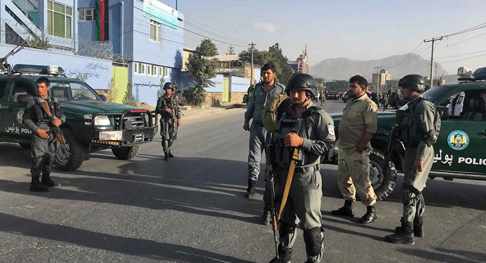 1057355182 - At Least 32 Killed in 113 Attacks Across Afghanistan on Election Day, Taliban Claimed Responsibility