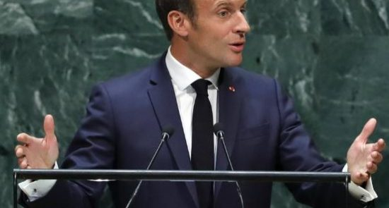 4 550x295 - France, Britain Urge Iran's Rouhani to Meet Trump