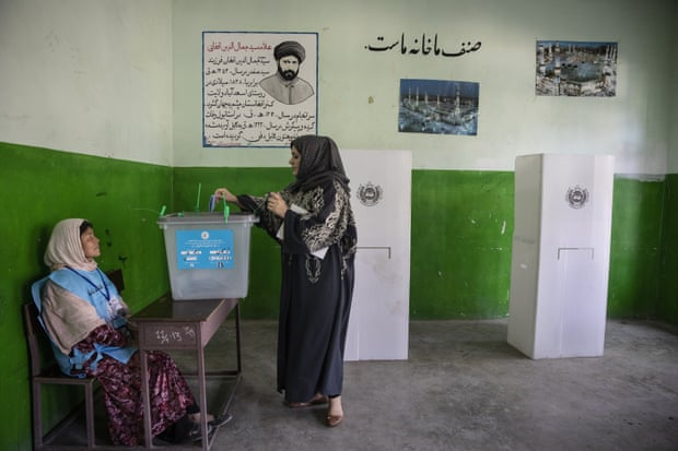 6720 - Afghanistan Polls Close after Day of violence, Fraud claims and Chaos