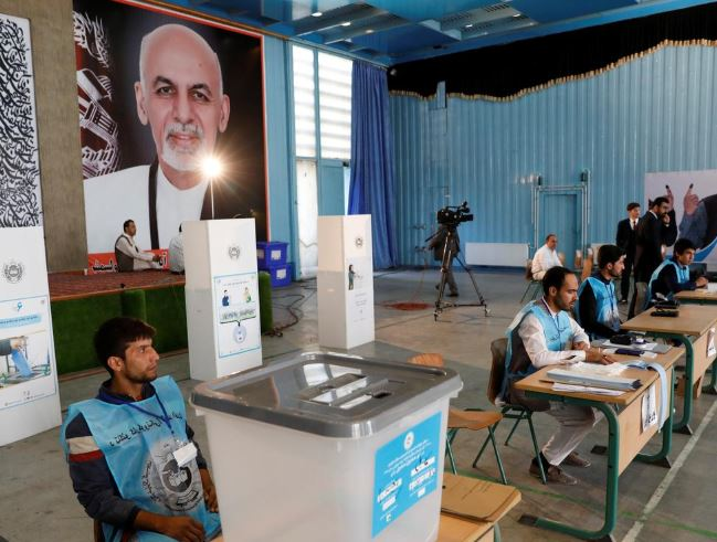 Capture 3 - Voting in Afghanistan's Presidential Election Begins