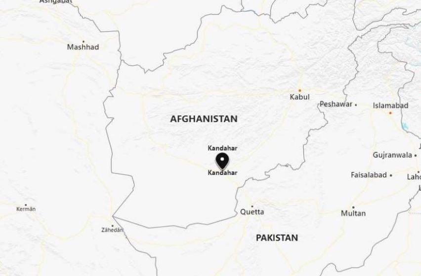 Capture 4 - Explosion Occurs Near Polling Station in Afghan City of Kandahar
